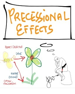 The Precessional Effects of Training