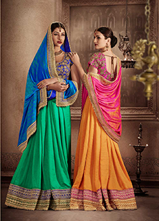 Trending Indian Georgette Saree, Silk Sari and Pure Chiffon Sarees
