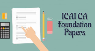 Download ICAI CA Foundation May 2018 Question papers with Answers