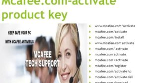 McAfee activate product key – Enter McAfee key code