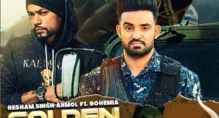 Golden Daang Resham Singh Anmol Ft Bohemia Full Mp3 song Download | Djjaani