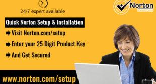 www.Norton.com/setup – Enter Norton Product Key – Download or Setup