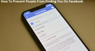How To Prevent People From Finding You On Facebook? – Redeem Office