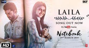 Laila Lyrics Notebook