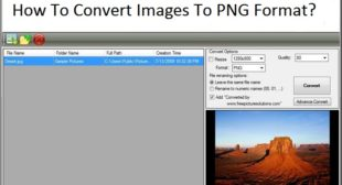 How To Convert Images To PNG Format?
