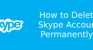 How to delete Skype account info and account completely