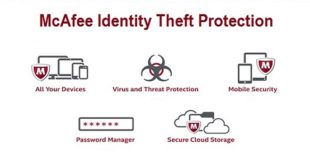 McAfee Theft Protection is available in different versions