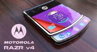 Next-gen Motorola Razr foldable phone to launch this year