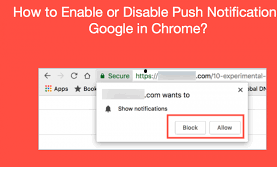 How to Enable or Disable Push Notifications in Google Chrome