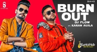 BURN OUT LYRICS – DJ FLOW New Song Out