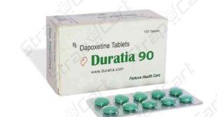 Duratia 90mg : Reviews, Price, Dosages | Strapcart