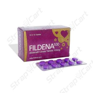 Fildena 100mg : Directions, Reviews, Price | Strapcart