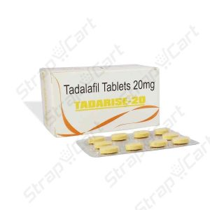Tadarise 20mg : Reviews, Side effects, Price | Strapcart