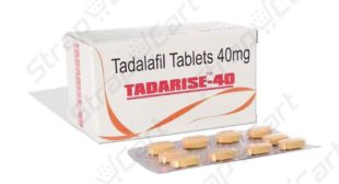 Tadarise 40mg : Reviews, Side effects, Dosage | Strapcart