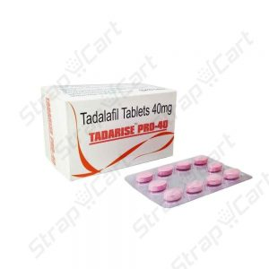 Tadarise Pro 40mg : Reviews, Side effects, For sale online | Strapcart