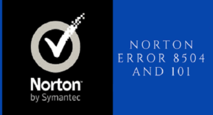 How to fix Norton setup error 8504 101?