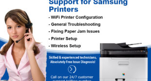 Samsung Printer Support Number