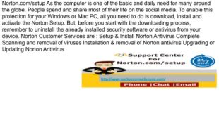 Norton Setup – How to Install & Uninstall Norton Security Software