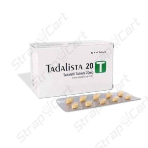 Tadalista 20mg : How to take, Reviews, Side effects, Dosage | Strapcart
