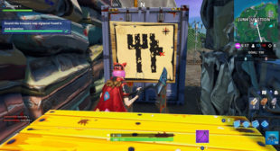 Fortnite: Guide For Season 8 Week 10 Treasure Map Challenge – Activate McAfee