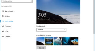 How to Remove Your Lock Screen Picture in Windows 10 – office.com/setup