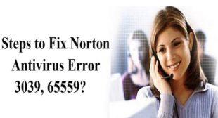 How to Fix Norton Antivirus Error 3039, 65559? – norton.com/setup
