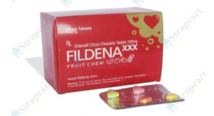 Fildena Chewable 100mg : Reviews, Price, Uses | Strapcart