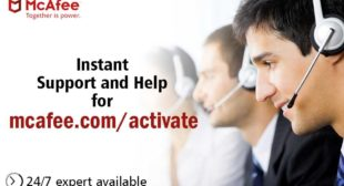 Download and Install McAfee Online @ www.mcafee.com/activate