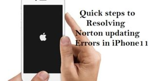 Quick steps to resolving Norton updating errors in iPhone 11