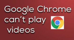 How to Fix Video Not Playing in Google Chrome – mcafee.com/activate