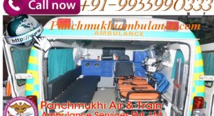 Avail All Medical Facility by Panchmukhi Road Ambulance Services in Noida