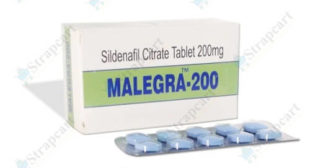 Malegra 200mg : Price, Reviews, Side effects | Strapcart