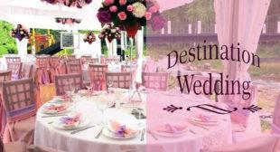 Outdoor destination Wedding- lucknow