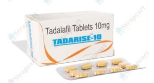 Tadarise 10mg : Extra Super Tadarise 100mg, Side effects | Strapcart