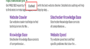 How to View a Cached Website on Google