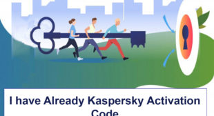 Reinstall kaspersky with activation code