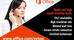 Office.com/setup – Enter Product Key – Download Or Setup MS Office