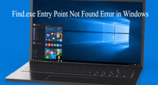 How To Fix Error 'Entry Point Not Found' On Windows