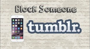 How to Block Someone on Tumblr?