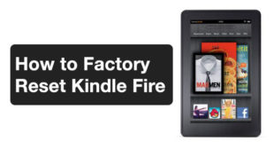 How to Factory Reset a Kindle Fire- Easy Tutorial – mcafee.com/activate
