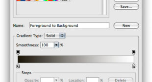 How to Use Custom Gradient Tool in Photoshop CC