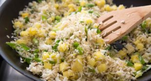 Ginger Pineapple Fried Rice |A Perfect Use For Leftover Rice| – Recipe Partner