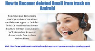 How to Recover Delete Emails ?