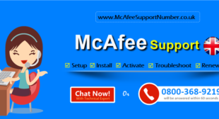 McAfee Support Number UK