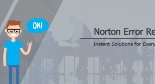 Norton Error Support Center