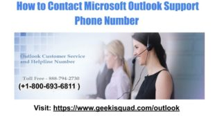 Outlook Toll Free Number- How to Reset Microsoft Account Password ?