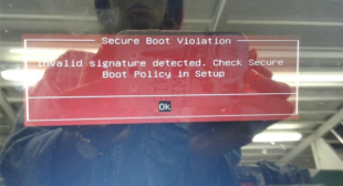How to Fix the 'Secure Boot Violation- Invalid Signature Detected' Error