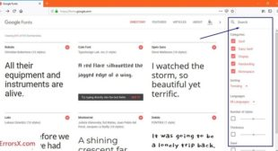 How to Search, Download and Use Google Fonts