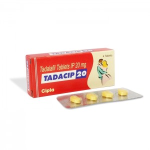 Buy Tadacip 20mg Tablet Online – Usage, Dosage, Side Effects, Interactions, Reviews and Price